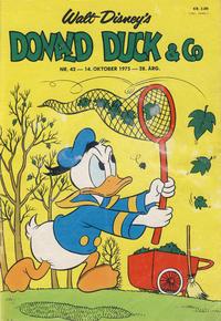 Cover Thumbnail for Donald Duck & Co (Hjemmet / Egmont, 1948 series) #42/1975