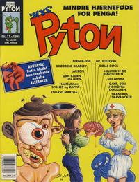 Cover Thumbnail for Pyton (Bladkompaniet / Schibsted, 1988 series) #11/1995