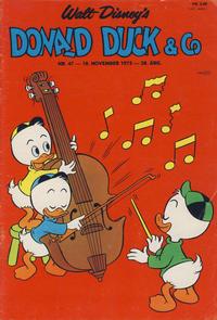 Cover Thumbnail for Donald Duck & Co (Hjemmet / Egmont, 1948 series) #47/1975