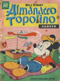 Cover Thumbnail for Almanacco Topolino (Arnoldo Mondadori Editore, 1957 series) #116