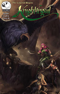 Cover Thumbnail for Knightingail: The Legend Begins (Crucidel Productions, 2011 series) #2