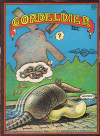 Cover Thumbnail for Gordeldier (Armadillo) III (Real Free Press, 1973 ? series)
