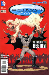 Cover Thumbnail for Batman Incorporated (DC, 2012 series) #12