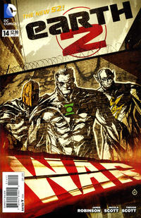 Cover Thumbnail for Earth 2 (DC, 2012 series) #14