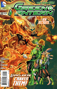 Cover Thumbnail for Green Lantern (DC, 2011 series) #22