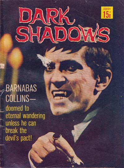 Cover for Dark Shadows (Magazine Management, 1973 series) #23021