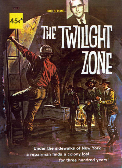 Cover for The Twilight Zone (Magazine Management, 1973 ? series) #R1245