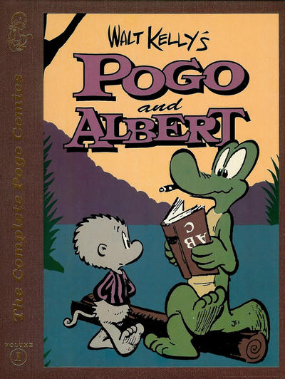Cover for The Complete Pogo Comics (Eclipse, 1989 series) #1 - Pogo and Albert