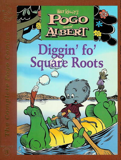 Cover for The Complete Pogo Comics (Eclipse, 1989 series) #3 - Diggin' fo' Square Roots