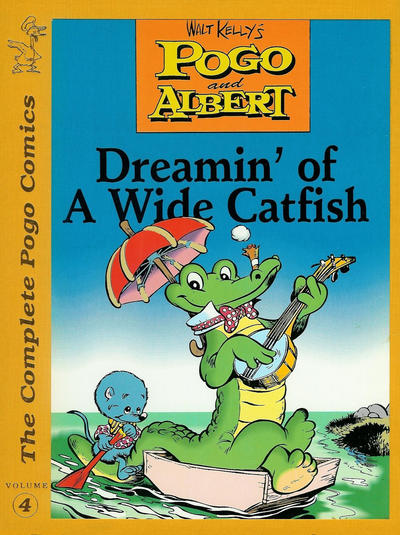 Cover for The Complete Pogo Comics (Eclipse, 1989 series) #4 - Dreamin' of a Wide Catfish