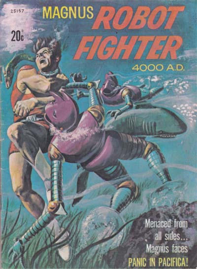 Cover for Magnus Robot Fighter 4000 A.D. (Magazine Management, 1975 ? series) #25157
