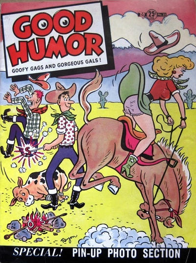 Cover for Good Humor (Charlton, 1948 series) #25