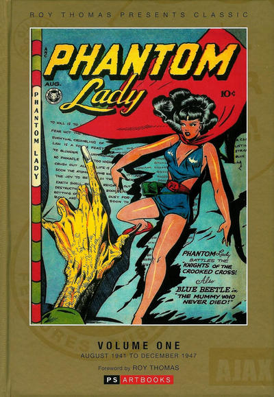 Cover for Roy Thomas Presents Classic Phantom Lady (PS, 2013 series) #1