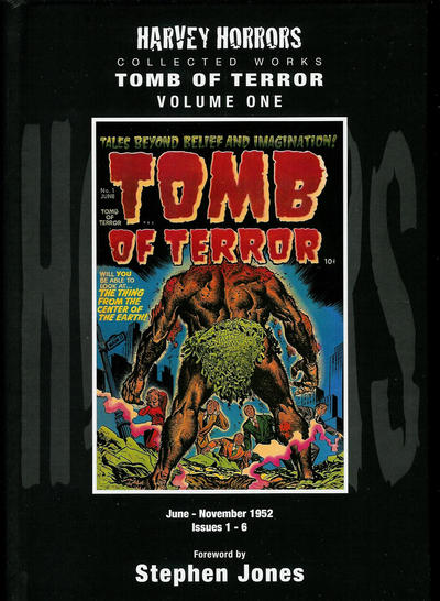 Cover for Harvey Horrors Collected Works: Tomb of Terror (PS, 2011 series) #1