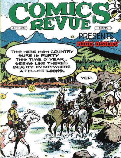 Cover for Comics Revue (Manuscript Press, 1985 series) #325-326
