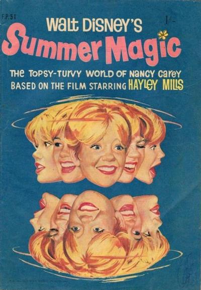Cover for Walt Disney's Film Preview (W. G. Publications; Wogan Publications, 1953 series) #51