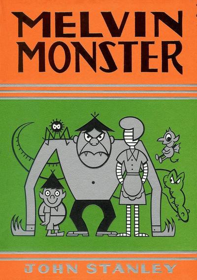 Cover for Melvin Monster (Drawn & Quarterly, 2009 series) #3