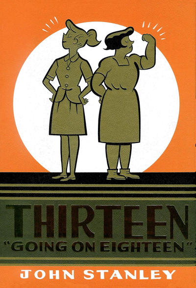 Cover for Thirteen Going On Eighteen (Drawn & Quarterly, 2010 series) #1