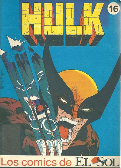 Cover for Los Comics de El Sol (Planeta DeAgostini, 1990 series) #16