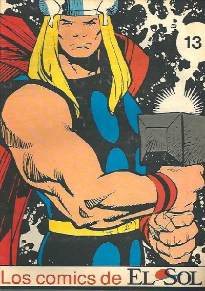 Cover for Los Comics de El Sol (Planeta DeAgostini, 1990 series) #13