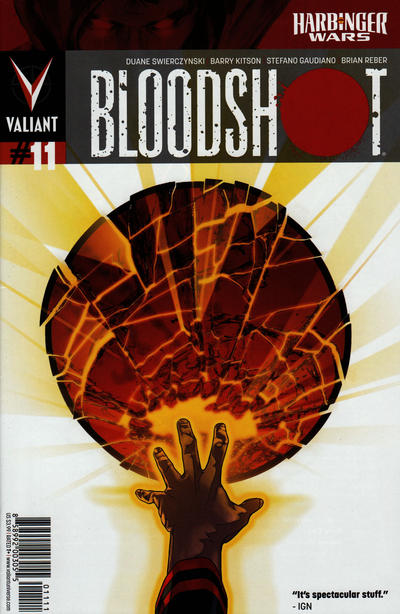Cover for Bloodshot (Valiant Entertainment, 2012 series) #11 [Cover A - Kalman Andrasofszky]
