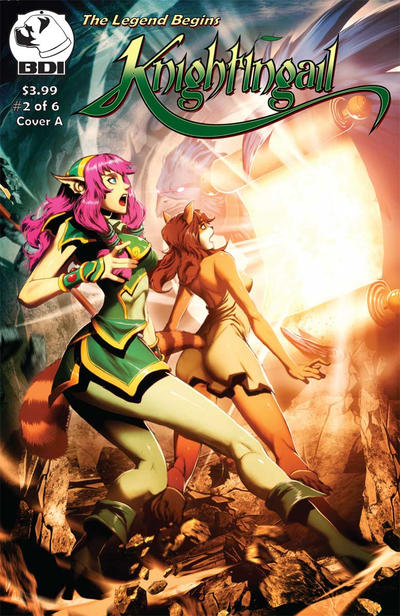 Cover for Knightingail: The Legend Begins (Crucidel Productions, 2011 series) #2 [B]