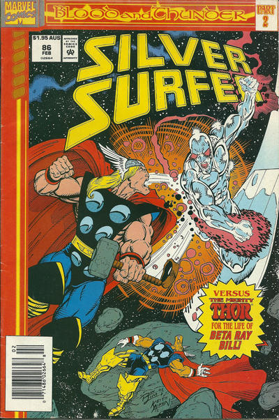 Cover for Silver Surfer (Marvel, 1987 series) #86