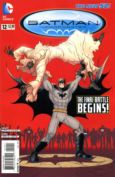 Cover for Batman Incorporated (DC, 2012 series) #12