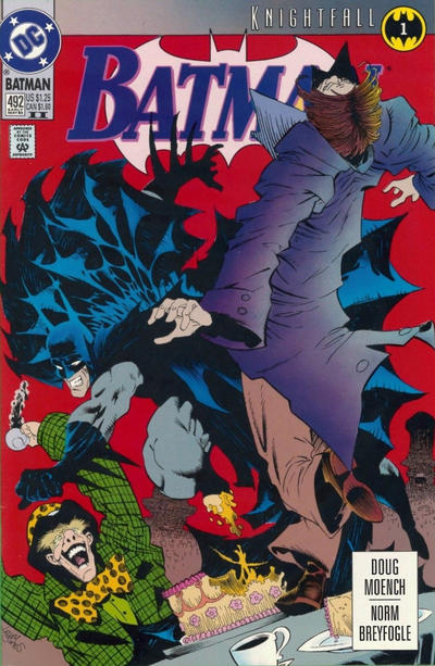 Cover for Batman (DC, 1940 series) #492 [Direct Sales Variant]