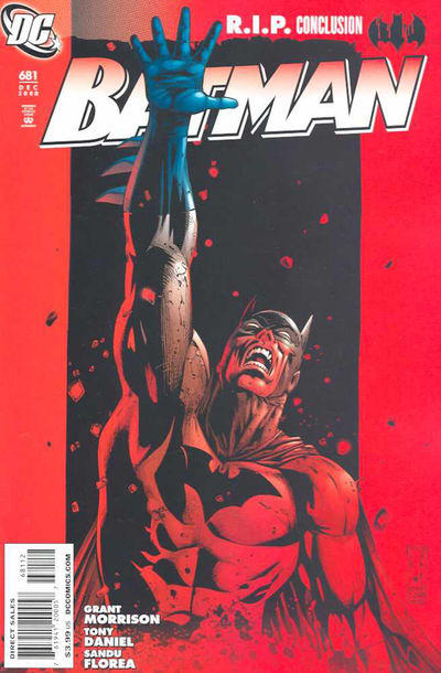 Cover for Batman (DC, 1940 series) #681 [2nd Printing]