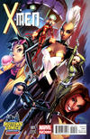 Cover Thumbnail for X-Men (2013 series) #1 [Midtown Comics Variant Cover by J. Scott Campbell]