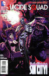 Cover for Suicide Squad (DC, 2011 series) #22