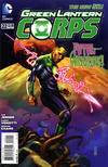 Cover for Green Lantern Corps (DC, 2011 series) #22 [Direct Sales]