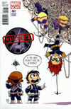 Cover Thumbnail for Secret Avengers (2013 series) #1 [Marvel Babies Variant by Skottie Young]