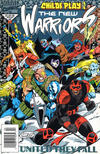 Cover for The New Warriors (Marvel, 1990 series) #46 [Newsstand]