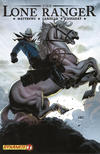 Cover for The Lone Ranger (Dynamite Entertainment, 2006 series) #7 [Horseback Variant]