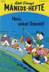 Cover for Walt Disney's Månedshefte (Hjemmet / Egmont, 1967 series) #6/1974