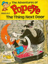 Cover for The Adventures of Popeye (Egmont/Methuen, 1978 ? series) #4