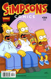 Cover for Simpsons Comics (Bongo, 1993 series) #204