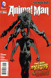 Cover for Animal Man (DC, 2011 series) #22