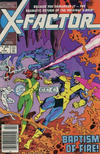 Cover for X-Factor (Marvel, 1986 series) #1 [Newsstand]