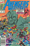 Cover for Avengers West Coast (Marvel, 1989 series) #61 [Newsstand]