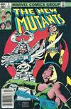 Cover for The New Mutants (Marvel, 1983 series) #5 [Newsstand]