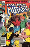 Cover Thumbnail for The New Mutants (1983 series) #7 [Newsstand Edition]