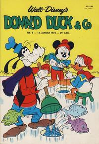 Cover Thumbnail for Donald Duck & Co (Hjemmet / Egmont, 1948 series) #3/1976