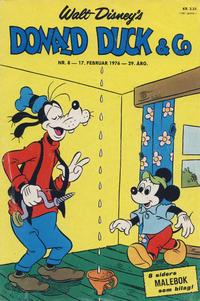 Cover Thumbnail for Donald Duck & Co (Hjemmet / Egmont, 1948 series) #8/1976