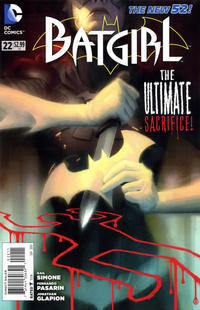 Cover Thumbnail for Batgirl (DC, 2011 series) #22