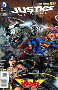 Cover Thumbnail for Justice League (DC, 2011 series) #22