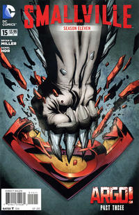 Cover Thumbnail for Smallville Season 11 (DC, 2012 series) #15