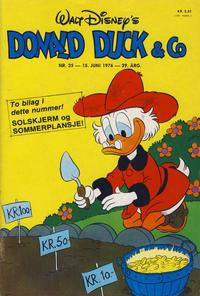 Cover Thumbnail for Donald Duck & Co (Hjemmet / Egmont, 1948 series) #25/1976
